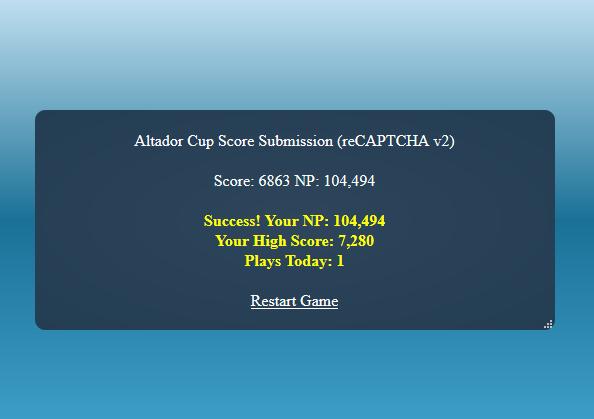 Altador cup v prizes in bulk